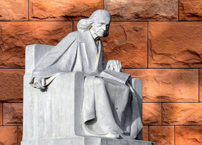 Sculpture Theodor Mommsen Historian  - Couleur / Pixabay